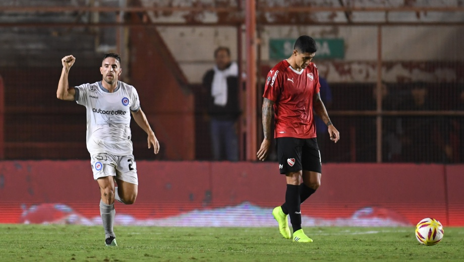 Hauche fue la figura con dos goles (Foto: Télam)