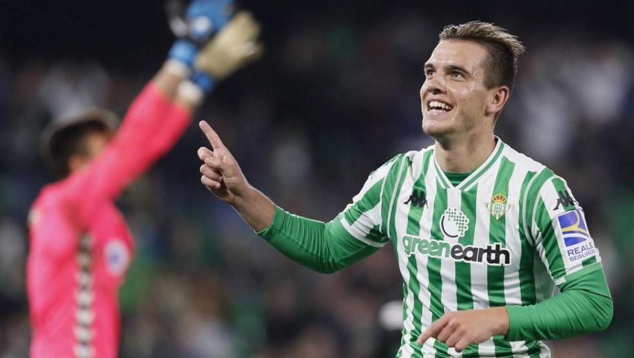Gio es figura en España y se ganó rápido el cariño de los hinchas de Betis.