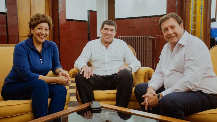 La reunión se desarrolló en la Residencia de los Gobernadores en Viedma.