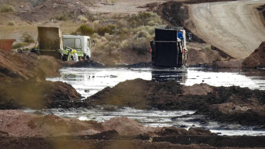 Treater, una tratadora de residuos petroleros, fue denunciada por Greenpeace en diciembre. Foto: Gentileza.