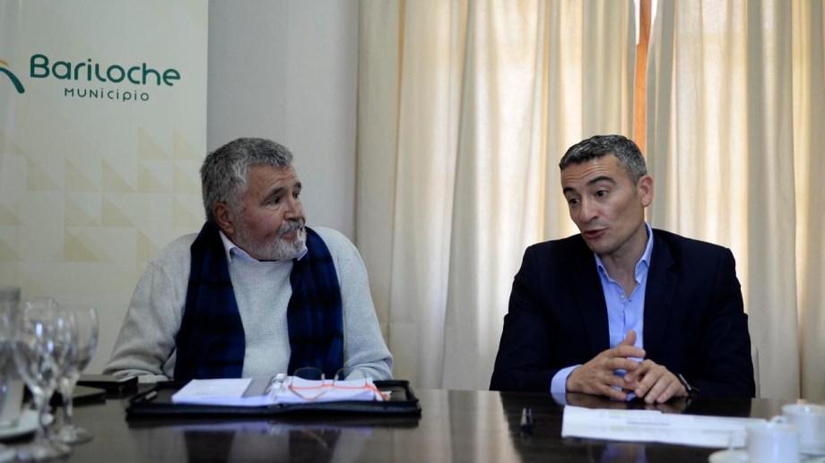 Carlos Cairo (izq) y Diego Quintana (der) hablaron de obras y finanzas. (Foto: Alfredo Leiva)