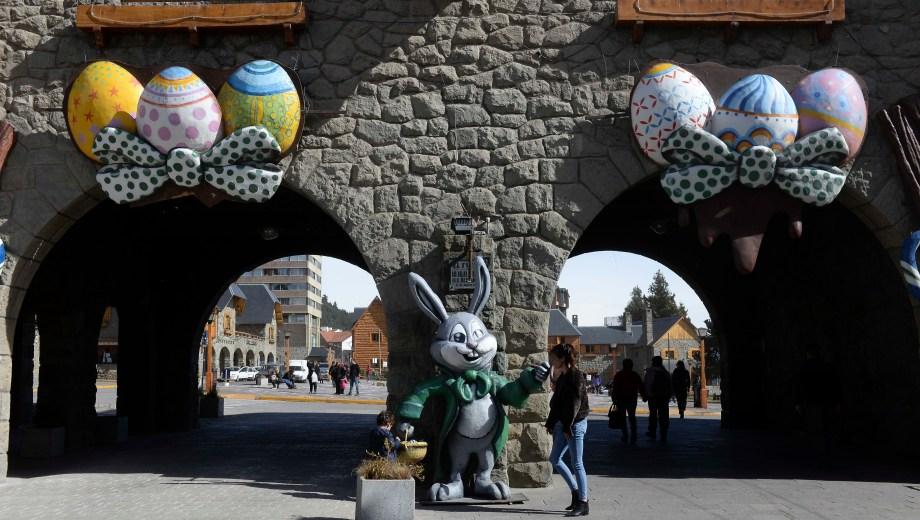 Bariloche se prepara para la Fiesta del Chocolate. (Foto: Alfredo Leiva)