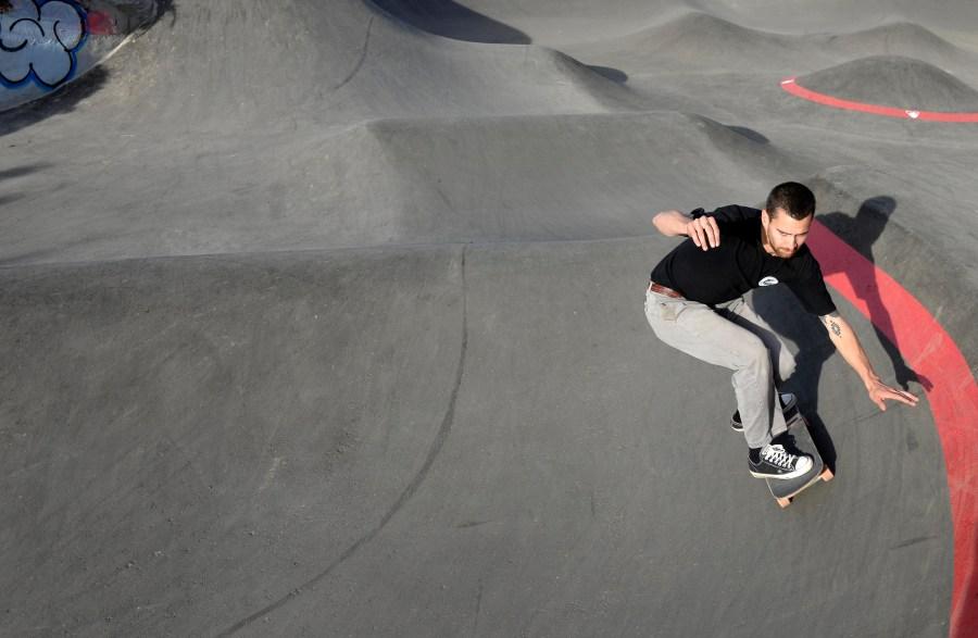 Skaters tendrán su espacio en el pump track. (Foto: Alfredo Leiva)