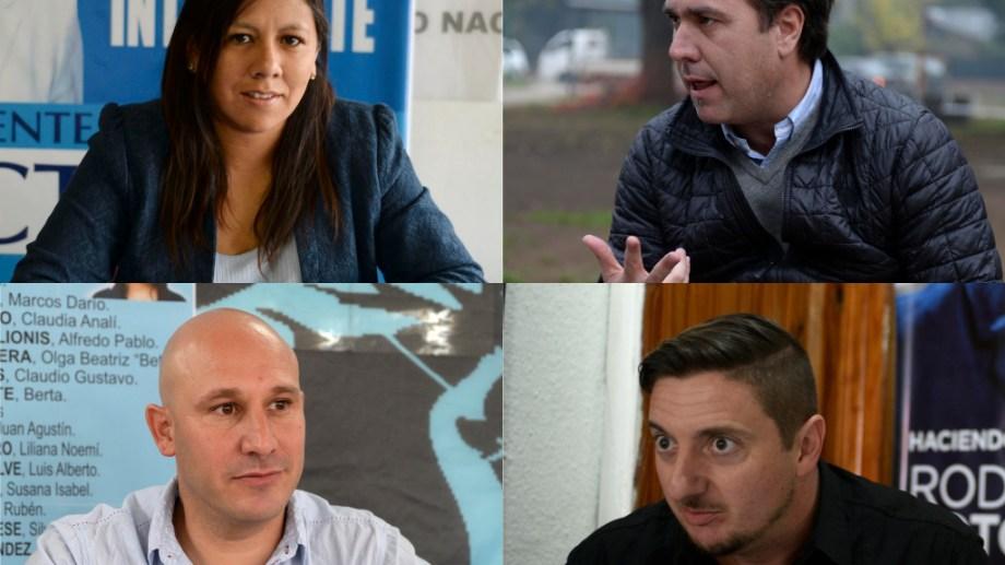 Cuatro candidatos se disputan la intendencia de El Bolsón hasta 2023.
