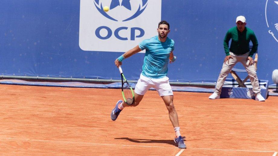 Andreozzi no tuvo un buen partido y perdió en dos sets.