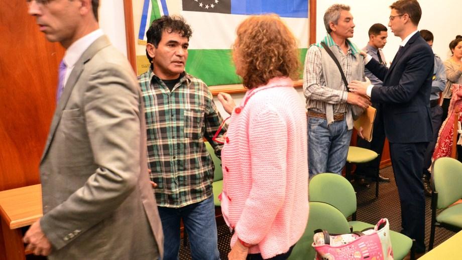 Carrasco y Toledo fueron absueltos al igual en el primer juicio celebrado en 2014. Fotos: Marcelo Ochoa.