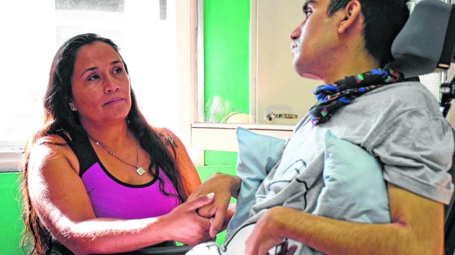 Facundo Agüero fue víctima de los excesos de la policía. (Foto: Archivo Florencia Salto.-)