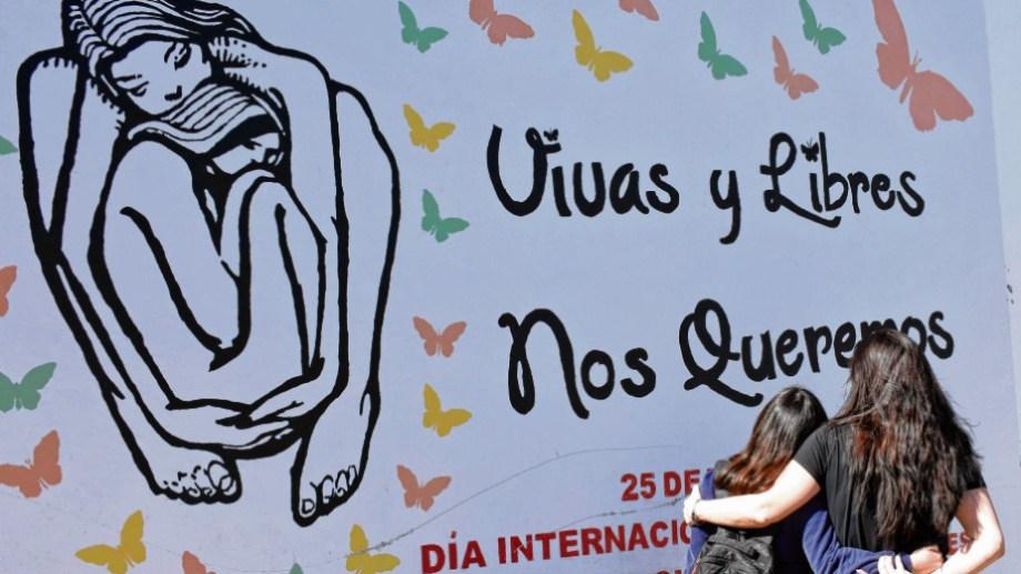 Cada 25 de noviembre se conmemora el día internacional de la eliminación de la violencia contra las mujeres. Foto: Archivo Florencia Salto