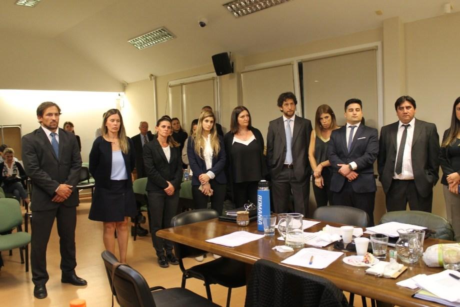 Los postulantes a los dos cargos de fiscal adjunto ante el Consejo de la Magistratura de la Tercera Circunscripción. (Gentileza)