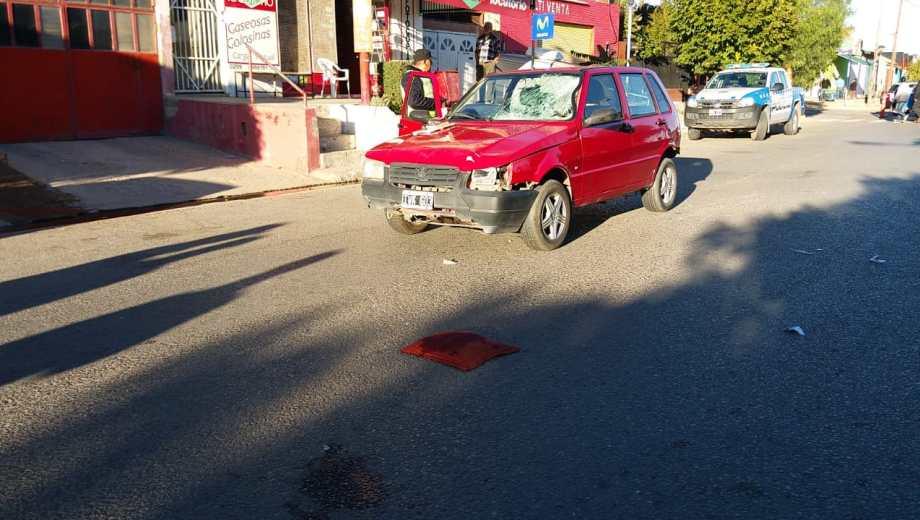 El vehículo involucrado en el accidente fue secuestrado por la Policía.