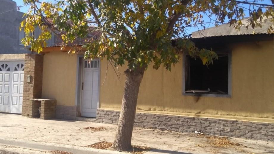 El hecho se registró en una vivienda ubicada en Santa Cruz al 100 del barrio Santa Clara.
