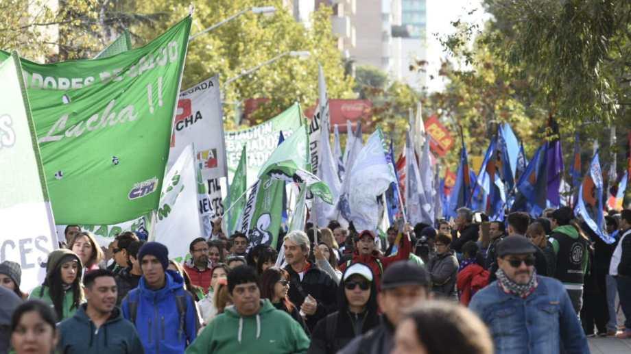Las organizaciones sindicales tienen previsto movilizarse por la zona céntrica.