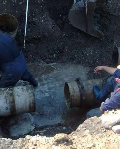 Los trabajos demandarán tres horas y a la noche volverá a funcionar el acueducto. Foto: Gentileza.