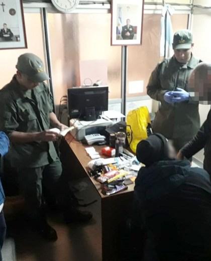El ciudadano inglés fue sorprendido en la frontera por los gendarmes. Foto: gentileza
