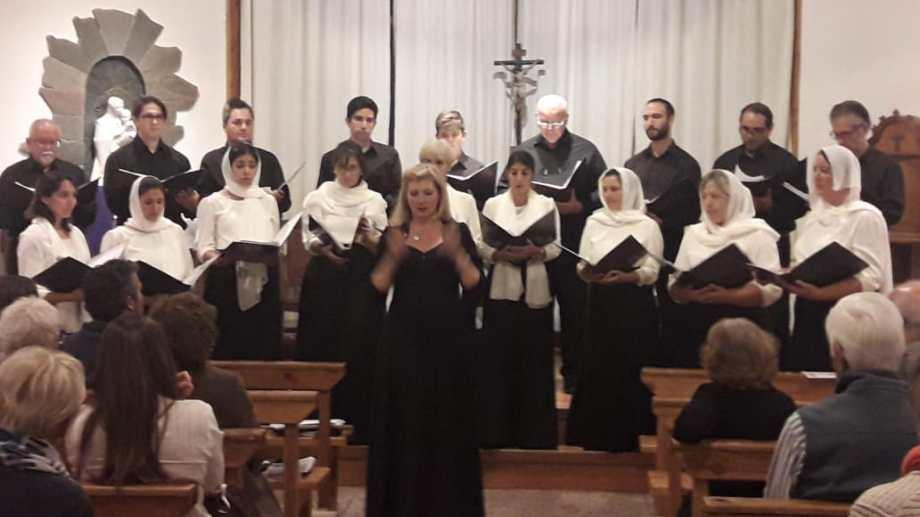 El coro barilochense Likui se conformó en 2008. Foto: gentileza