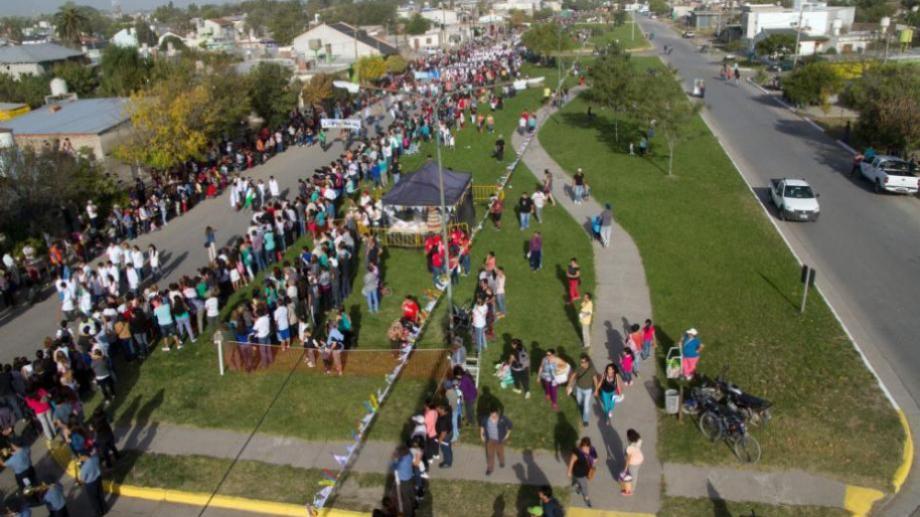 El desfile se realizará el lunes 22 de abril. Foto Archivo: Pablo Leguizamón