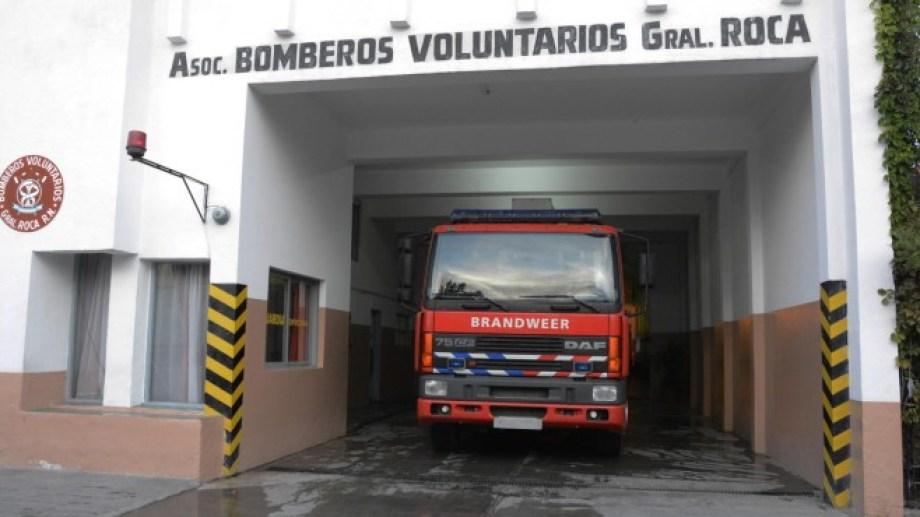 Un bombero retirado de Roca presentará seis notas.