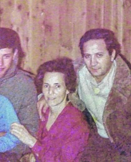Viedma - 28/03/2019 despues de 37 años el soldado continental, santiago villalba, se reencuentra con la familia ansola que lo albergaba en su casa durante el conflicto armado de las islas malvinas Foto  : Marcelo Ochoa