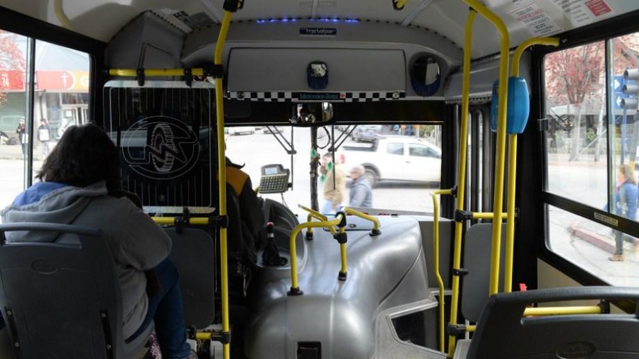 La Línea 51 del transporte urbano en Bariloche ahora tiene frecuencias cada 30 minutos o más espaciadas. Foto: archivo