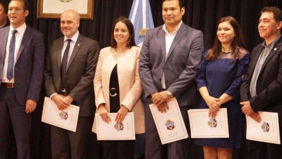 El gobernador Omar Gutiérrez completó su nuevo gabinete. Foto gentileza
