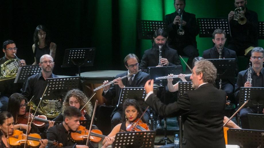 La filarmonica ofrecio dos grandes recitales. Fotos: Pablo Leguizamón.