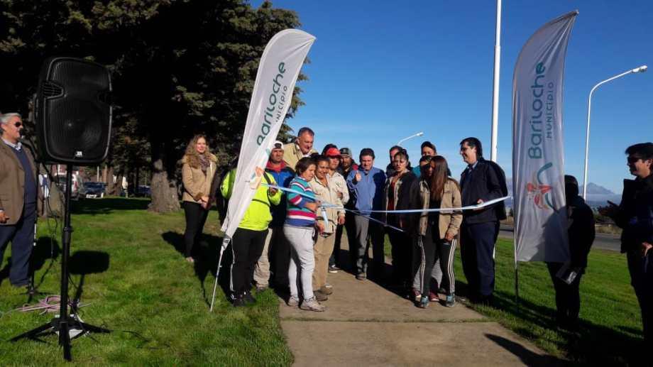 Hoy se inauguró un tramo del Paseo del Este que concluirá en el viejo camino al aeropuerto. Foto: gentileza