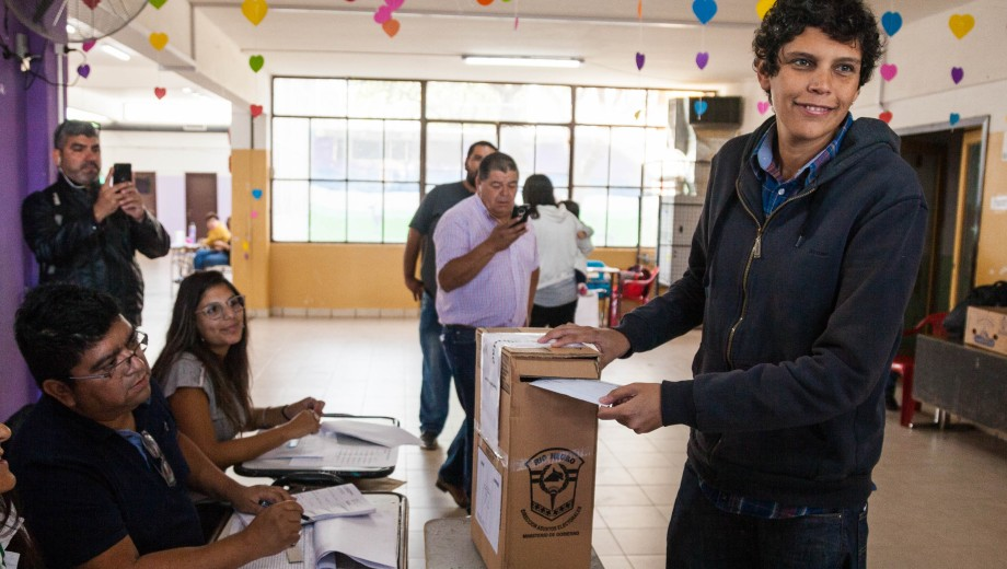 Pablo Barreno encabeza la lista del Frente para la Victoria. Foto: Marcelo Ochoa