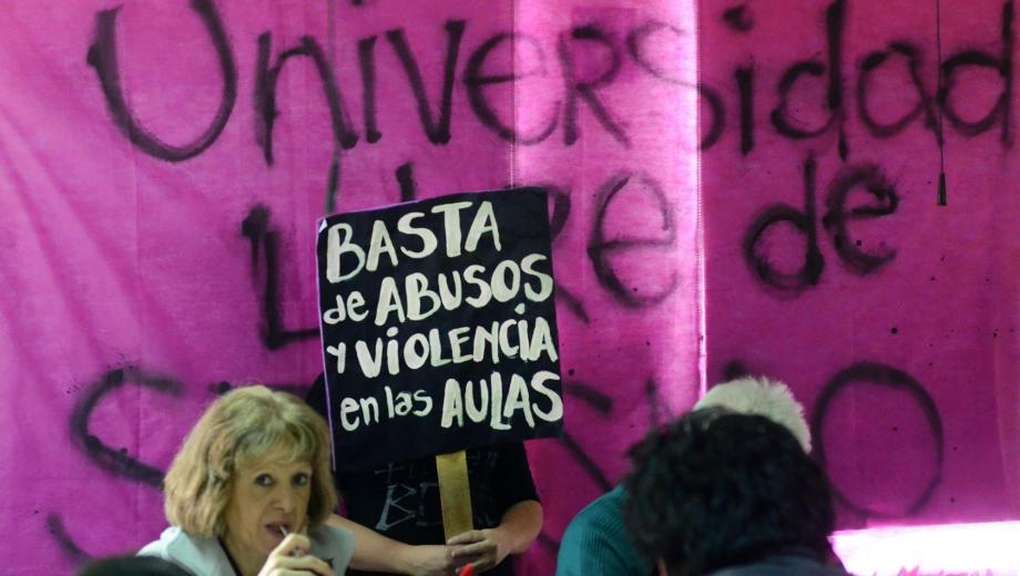 La del Comahue fue la primera universidad del país en contar con un protocolo de atención a la violencia. (Archivo).-