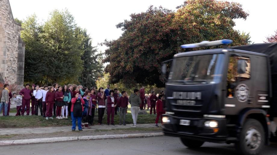 Las amenazas de bombas en colegios de Bariloche suman 31. Foto: archivo
