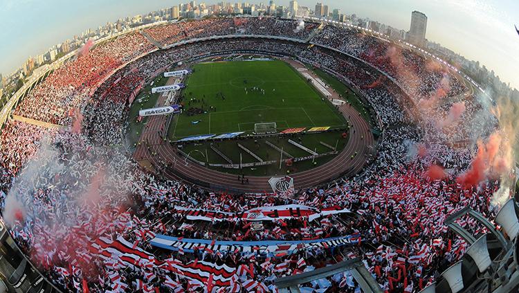 El Monumental será el escenario para el partido revancha de la Recopa.