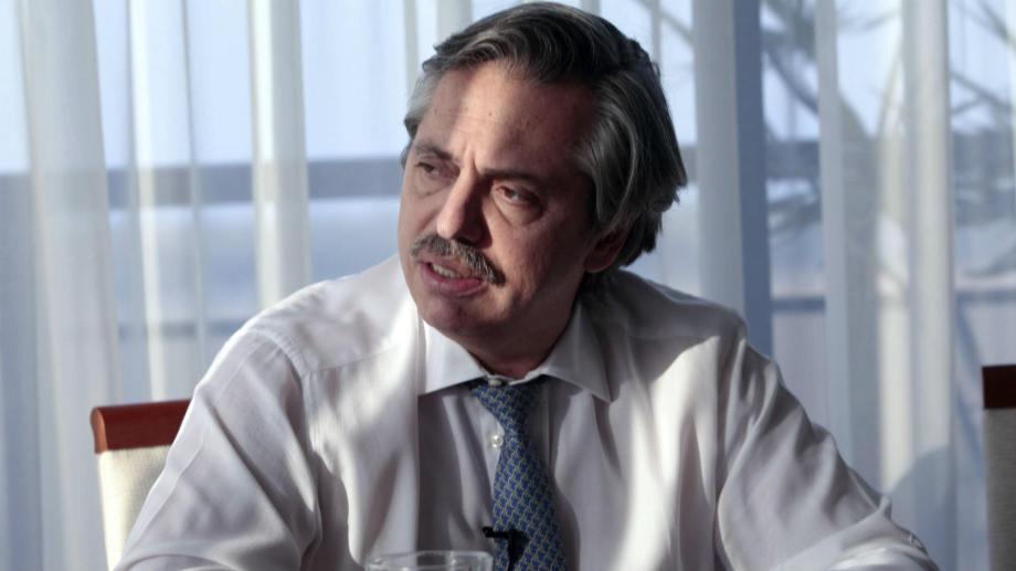 El pre candidato Alberto Fernández. Foto: @AlferdezPRENSA