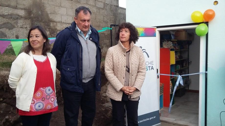 Gennuso inauguró la ampliación de un centro infantil