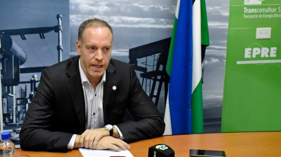 El secretario de Energía Sebastián Caldiero