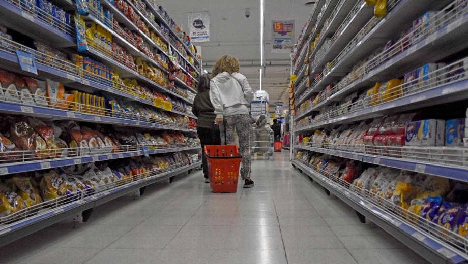 Los bienes se incrementaron por encima de los servicios. Foto: Florencia Salto
