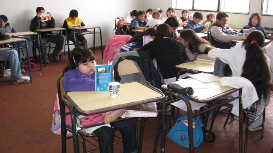 Gimena asistió hasta 2008 a la Escuela 320 y como reconocimiento le pusieron en mayo de 2009 su nombre a la sala de informática.  (Gentileza Gabriela Latorre)