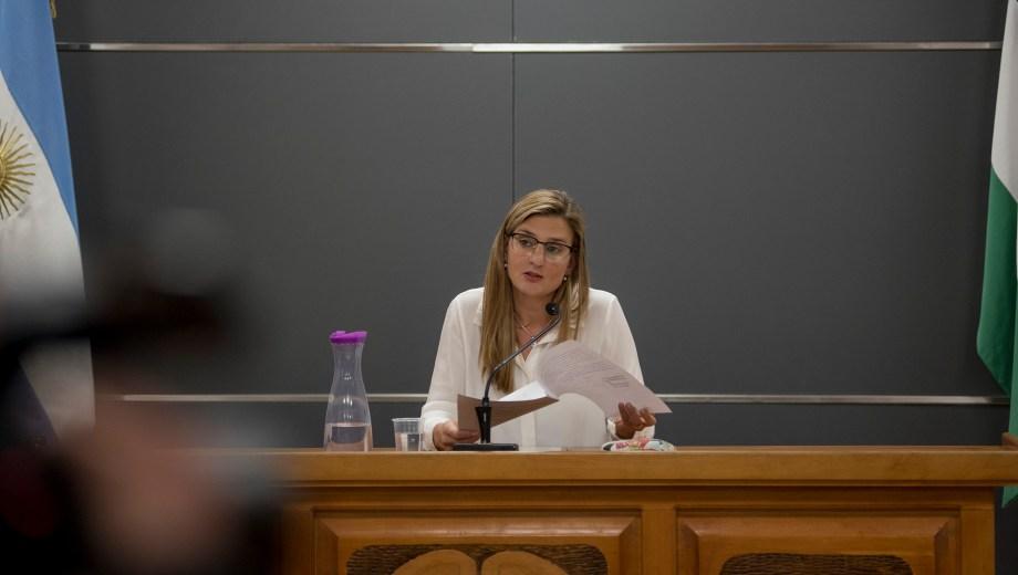 La jueza Romina Martini rechazó la formulación de cargos. Foto: Marcelo Martinez