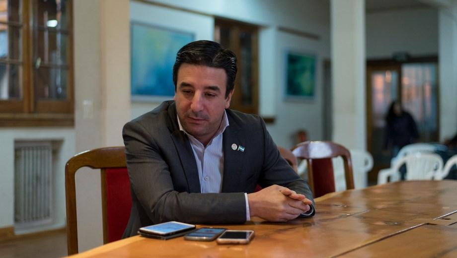 El jefe de Gabinete, Marcos Barberis, dijo que evaluarán el pedido de aumento del boleto de Mi Bus. Foto: Marcelo Martínez