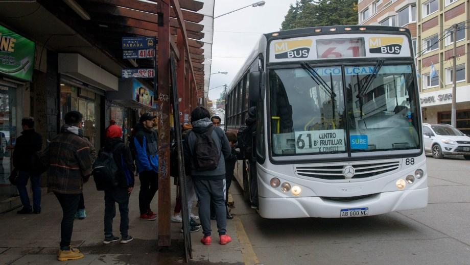 La empresa argumentó que la suba del boleto es por el reclamo de mejora salarial que hizo la UTA. Foto: Marcelo Martinez