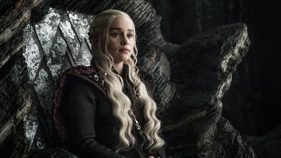 El personaje de Daenerys Targaryen Foto: @GameOfThrones