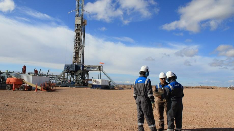 El yacimiento de YPF es el principal productor de petróleo no convencional. Foto: archivo.