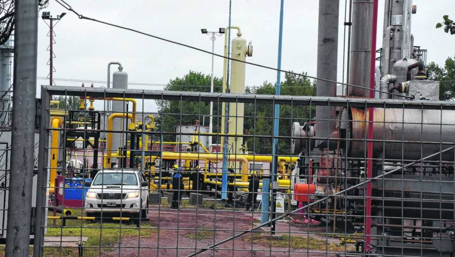 Estación Fernández Oro (EFO) , es el principal yacimiento de gas en Río Negro.