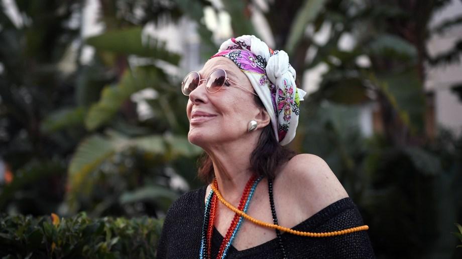 Graciela Borges disfrutó interpretar a una diva ingenua. (Foto Télam).