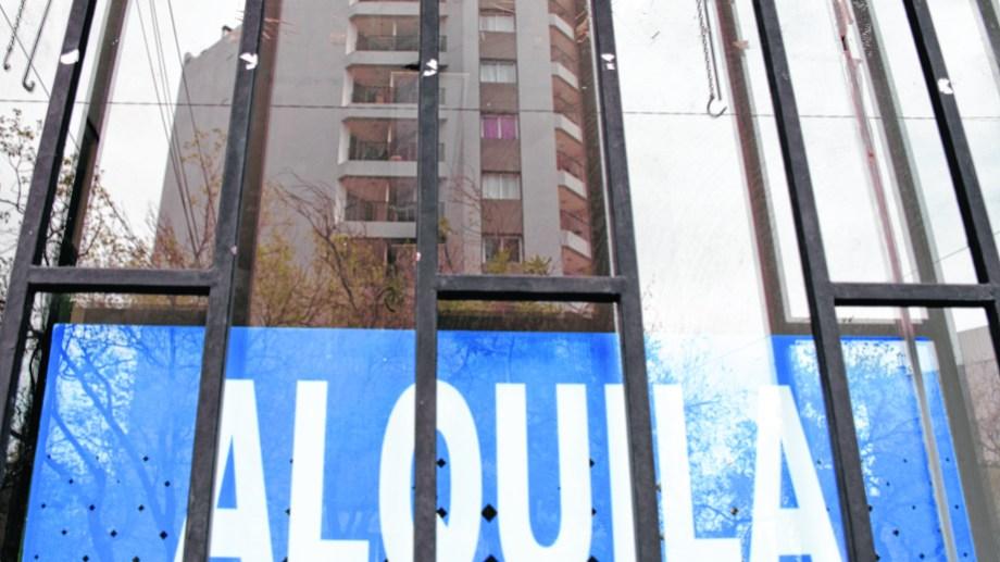 La nueva ley de alquileres tuvo ayer media sanción en Diputados. Foto Archivo.