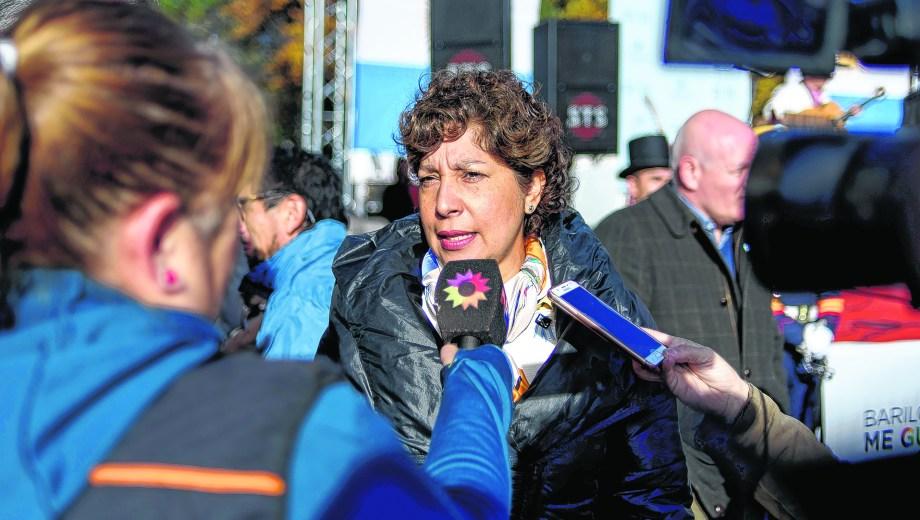 La gobernadora electa hizo una gira desde Ñorquinco hasta El Cuy.