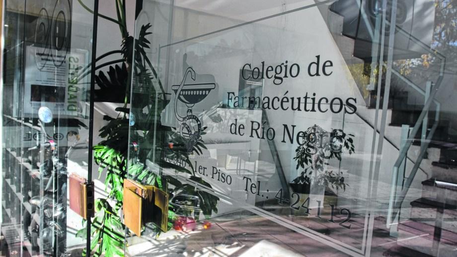 Las auditorías se hacían en  la sede del Colegio, en Roca.