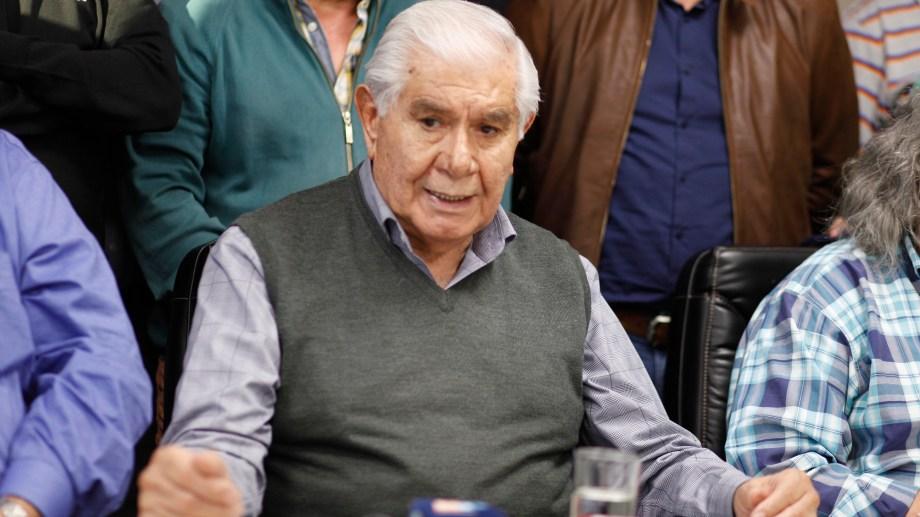 El titular del sindicato Petroleros Privados va por la reelección en el Senado. Foto: Archivo.