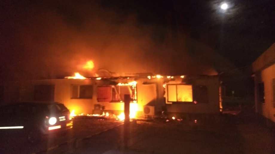 El incendio se controló rápidamente y no afectó al sector productivo.