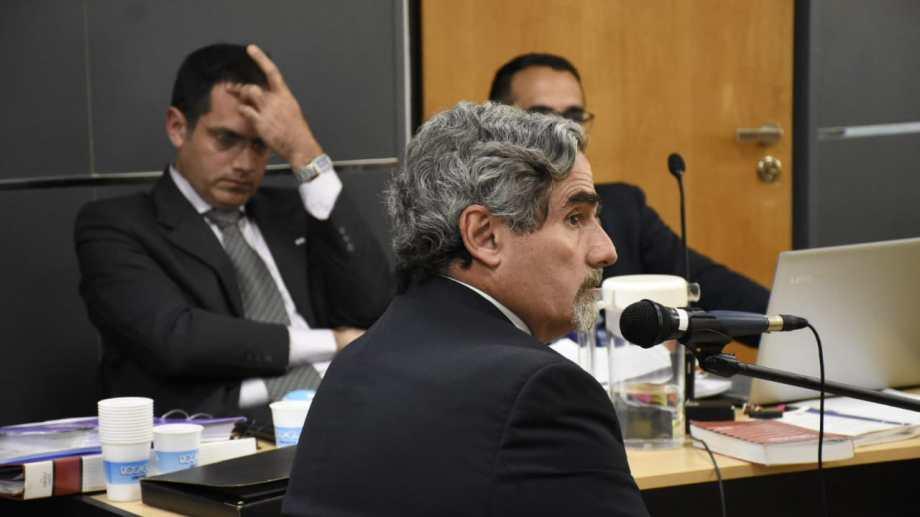 Ernesto Beruti es médico obstetra del Hospital Austral y defendió a Rodríguez Lastra. (Foto: Florencia Salto.-)
