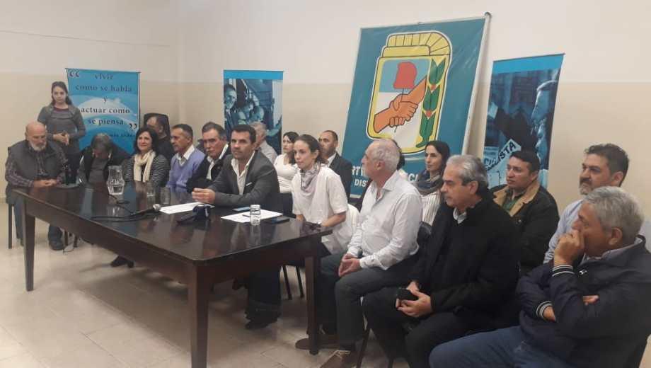 El PJ de Neuquén anunció que convocrá al MPN para formar un frente patriótico de cara a las elecciones nacionales. (Gentileza).-