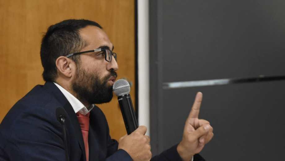 El abogado defensor, Damián Torres, rechazó las acusaciones del fiscal. (Foto: Florencia Salto.-)